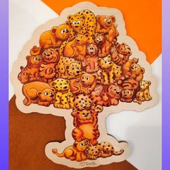 Пазл детский Сафари ToySib 01070