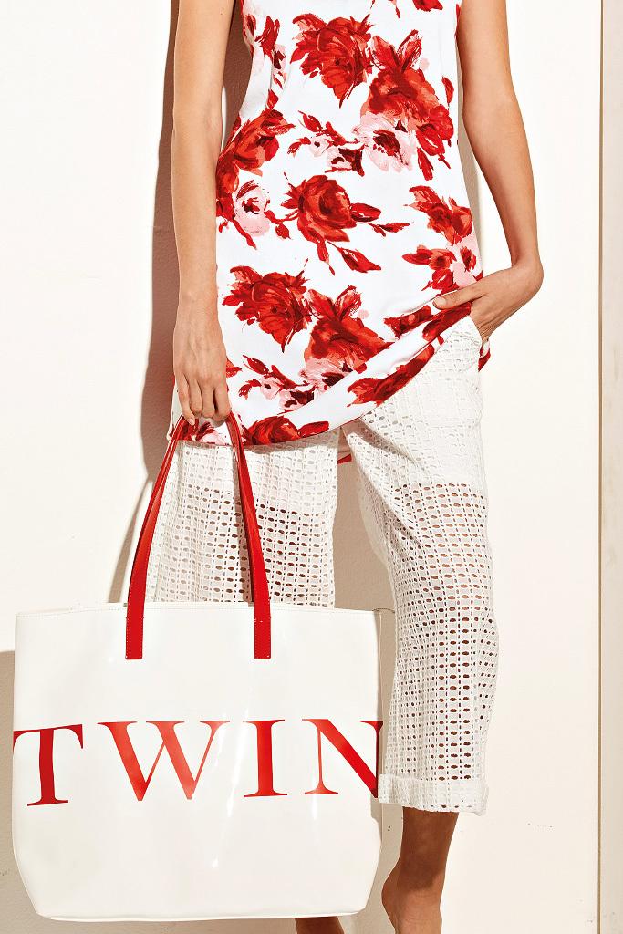 Летний комплект футболка и брюки-кюлоты Twin-Set
