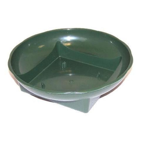 Поддон круглый d15 см Зеленый