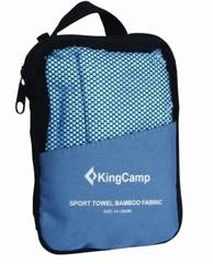Полотенце быстросохнущее Kingcamp HikerMicroFibre Towel 30x60см синий