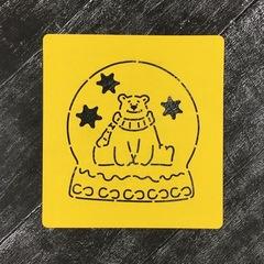 Шар на подставке: Мишка Умка №3