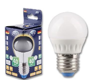 Лампа светодиодная 32262 7 Е27 5W-2700K шар
