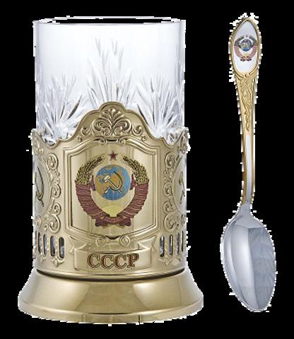 """Подстаканник """"Герб СССР"""" (лазерная гравировка)"""