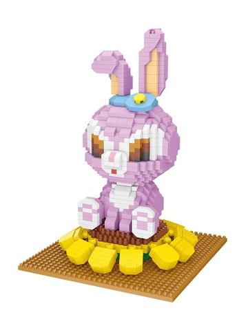 Конструктор Wisehawk Крольчиха Стелла 1109 деталей NO. 2636 Rabbit Stella Gift Series