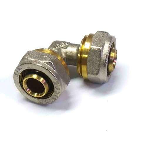 Угол обжимной для металлопластиковых труб 16 мм Valve