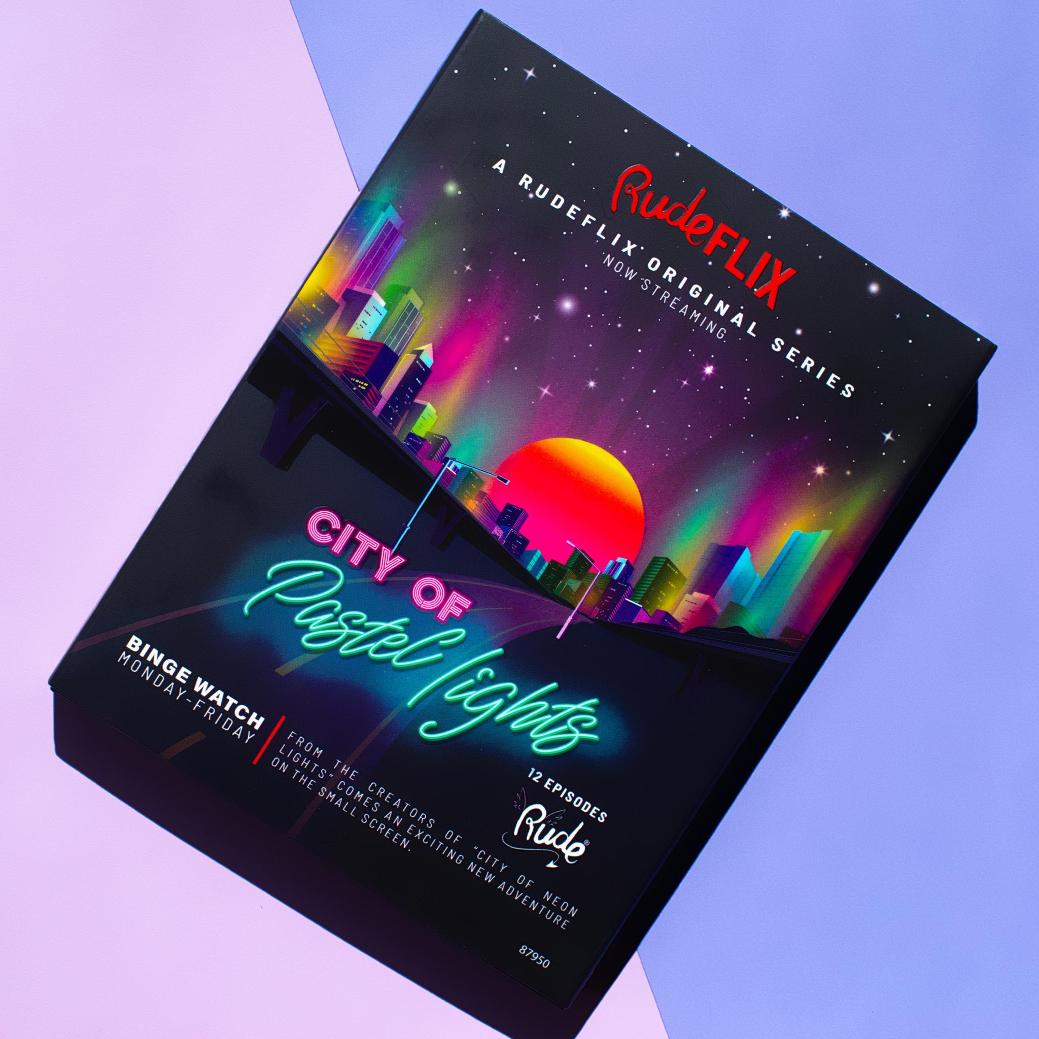 Палетка теней City of Pastel Lights