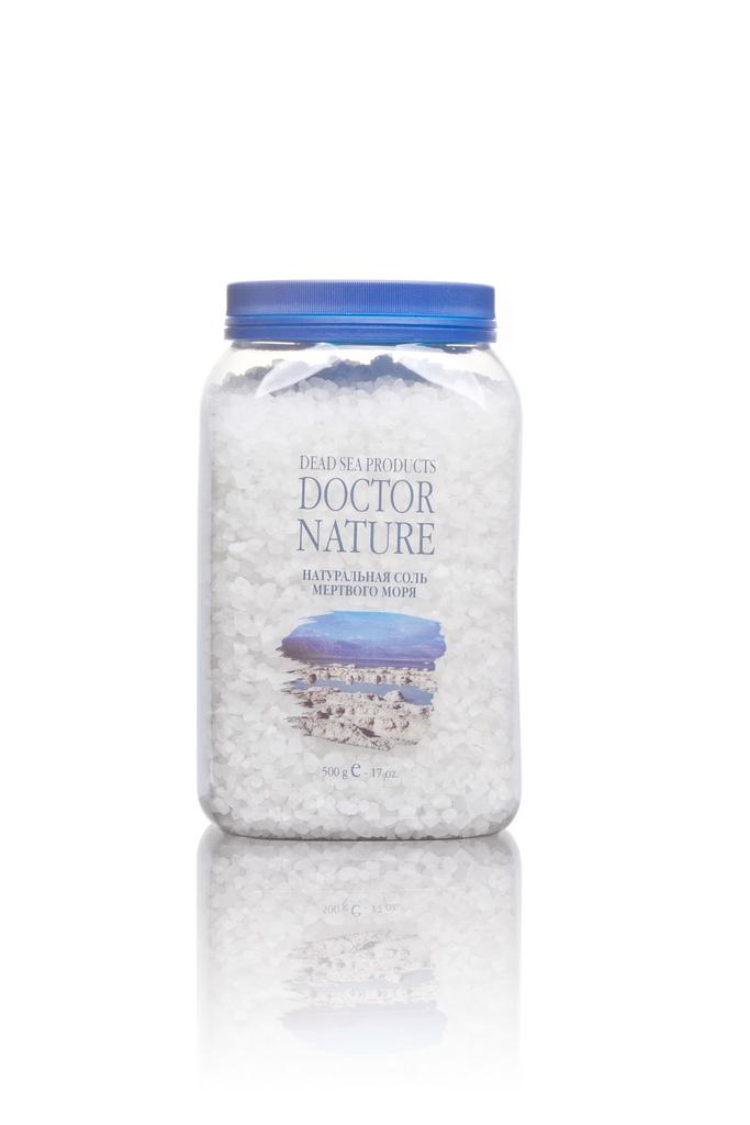 Doctor Nature натуральная соль Мертвого моря 500 г.