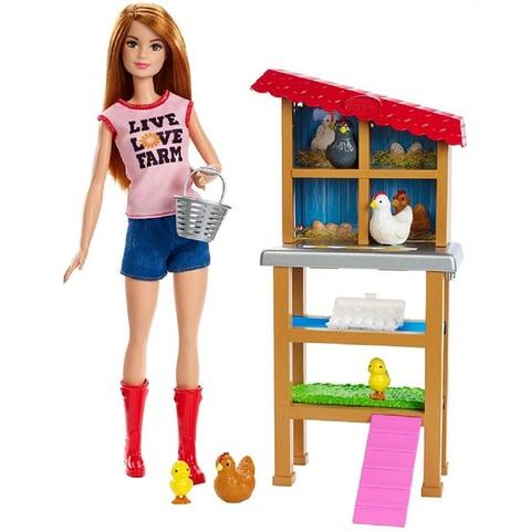 Барби Кем Быть Птичья Ферма