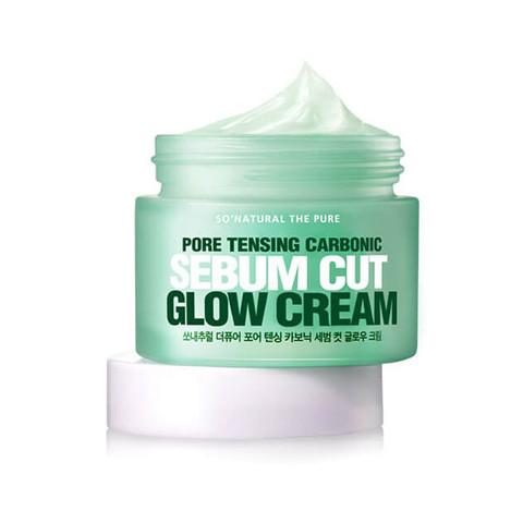 So Natural Pore Tensing Carbonic Sebum Cut Glow Cream50ml