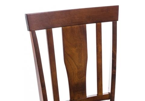 Стул деревянный кухонный, обеденный, для гостиной Reno черный 43*43*94