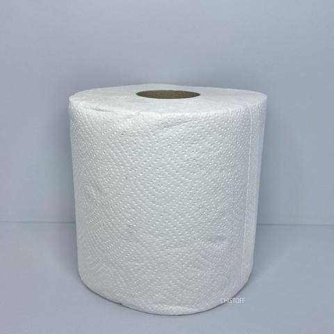 Полотенца бумажные макулатурные Papero Standart Джамбо Эко 2сл. 75 м (2 шт.) белые (ERL001)