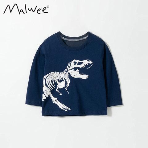 Лонгслив для мальчика Malwee Динозавр