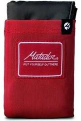 Покрывало большое Matador Pocket Blanket 3.0 (MATL4001R) с красным чехлом