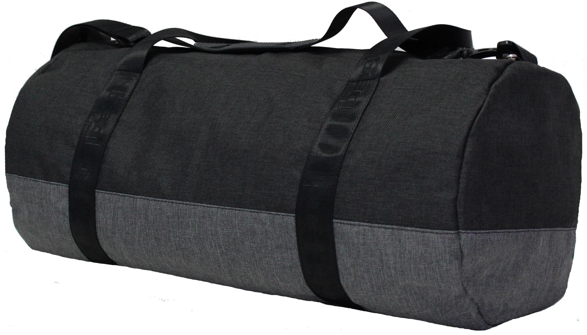 Сумка Bagland Staff 30 л. Чёрный/серый (0030069)