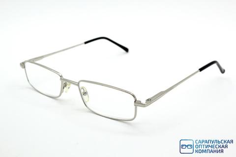 Очки готовые для зрения лектор в широком металлическом футляре LIRO MIO M85000 C4 (