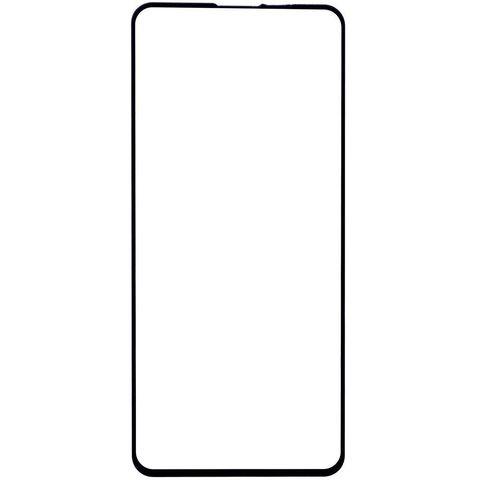 Защитное стекло для Xiaomi Poco X3 NFC с черной рамкой 2,5D Full Glue