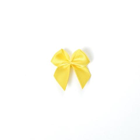 Бантик желтый яркий