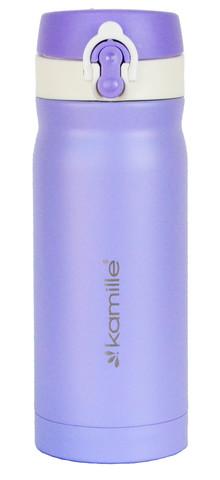 Термос-кружка Kamille 360 мл. фиолетовый