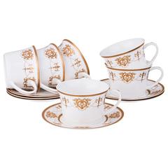 Чайный набор из фарфора на 6 персон 760-612