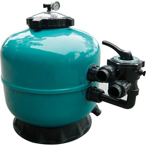 Фильтр ламинированный PoolKing LS450 8 м3/ч диаметр 450 мм с боковым подключением 1 1/2
