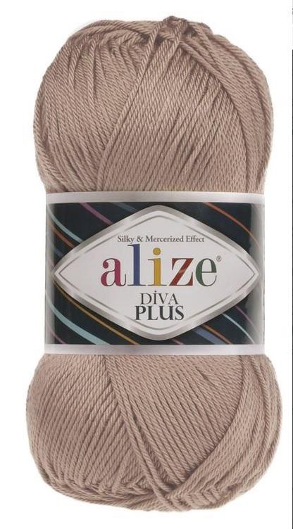 Пряжа Alize Diva Plus 05 беж