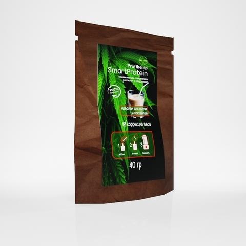 Смарт Протеин (конопляный продукт), 40 гр. (Профихемп)