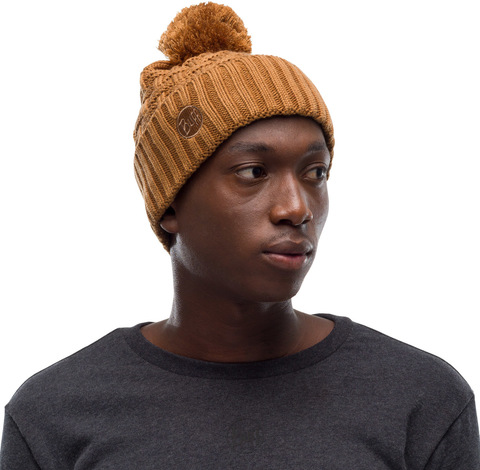 Шапка вязаная с флисом Buff Hat Knitted Polar Airon Bronze фото 2