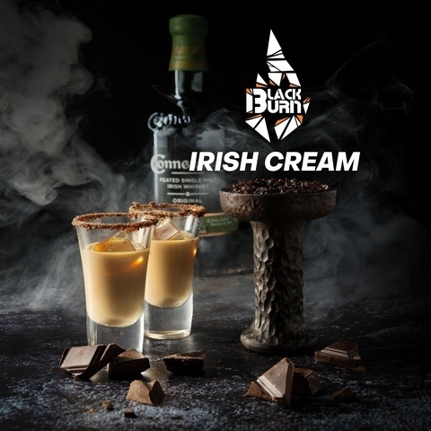 Табак Burn BLACK 25 г Irish Cream