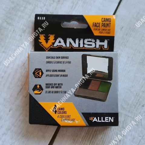 Грим маскировочный Vanish by Allen (4 цвета)