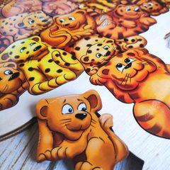 Пазл из дерева Сафари ToySib 01070