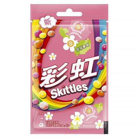 Драже Skittles со вкусом цветов 40 гр