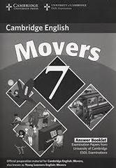 C Young Learners Eng Tests 7 Movers Answer Booklet