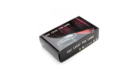 Задний противотуманный лазер (car laser fog lamp)