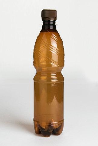 Бутылка 500 мл с узким горлом ø 28 мм коричневая