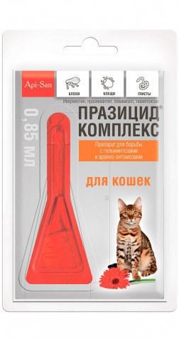 Празицид-комплекс для кошек