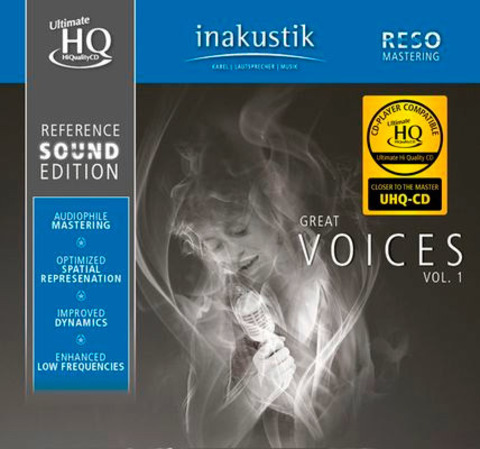 Inakustik CD, Great Voices, 01675015