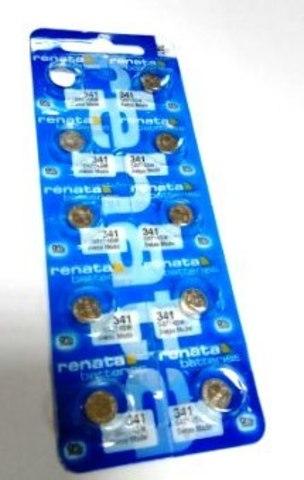 Элемент питания Renata 341 0%Hg BL-10/100