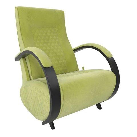 Кресло-глайдер Balance Balance-3 с накладками, венге/Verona Apple Green, 014.003