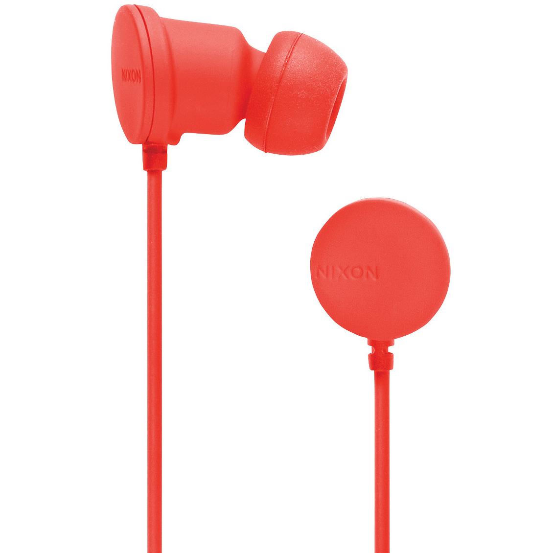 Наушники NIXON Wire Mic II Matte Red Pepper (H024)