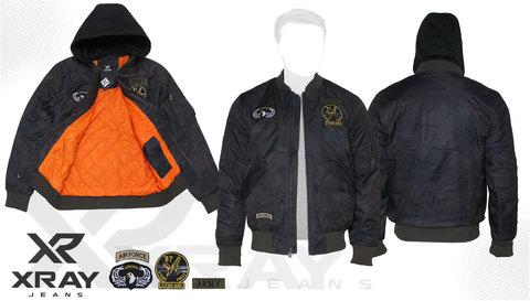 Куртка утепленная 'M-1 Flight Jacket Hooded & Patches' Camo