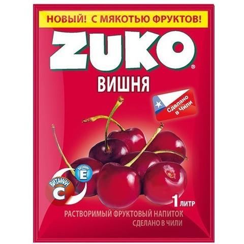 Растворимый напиток Zuko Вишня 25 г