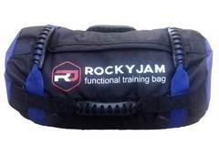 Сэндбэг RockyJam S (15-45 кг) синяя с резиновыми ручками - 2