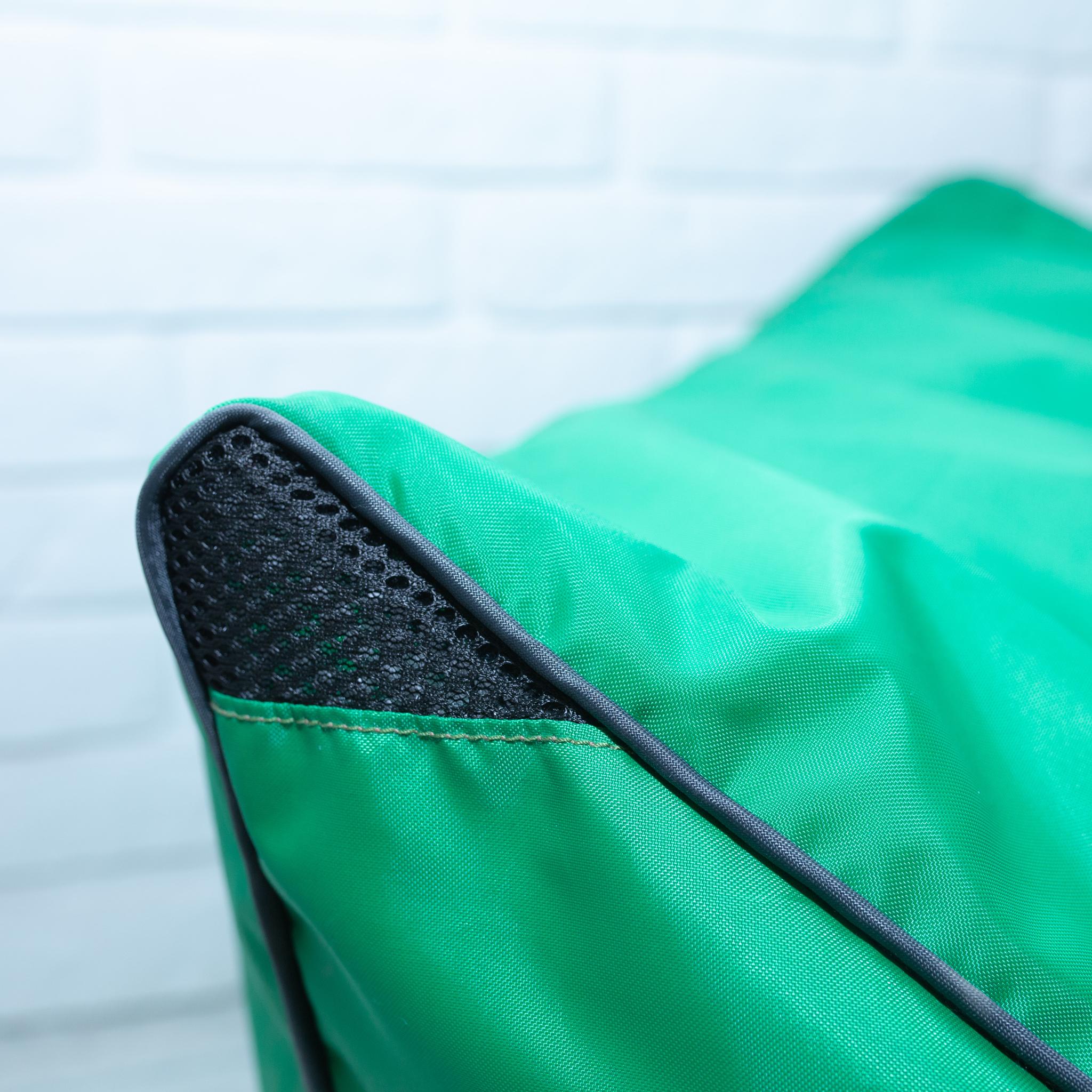 Шезлонг плащёвка (зелёный)