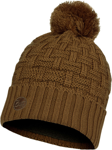 Шапка вязаная с флисом Buff Hat Knitted Polar Airon Bronze фото 1