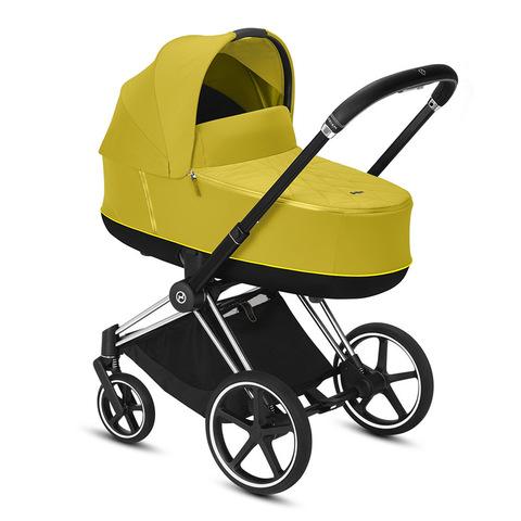 Коляска для новорожденных Cybex Priam III Mustard Yellow Matt Black