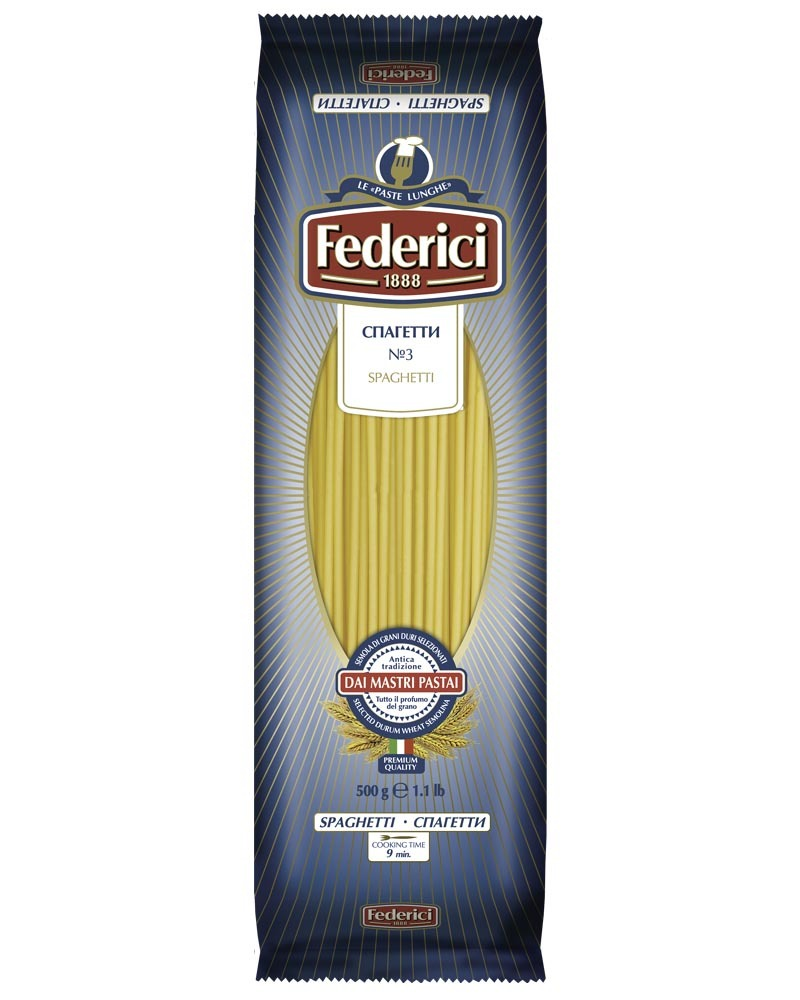 Спагетти Federici 500гр