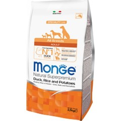 Monge All breeds Adult с уткой 2,5кг.