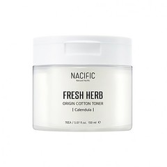 Тонер NACIFIC Fresh Herb Origin Cotton Toner 70 шт.