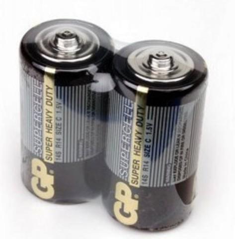 Элемент питания GP R14 Supercell к-т2 shrink 1/12/120