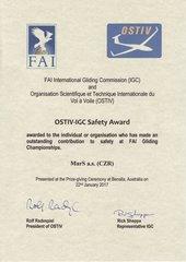 спасательный парашюты mars сертификат